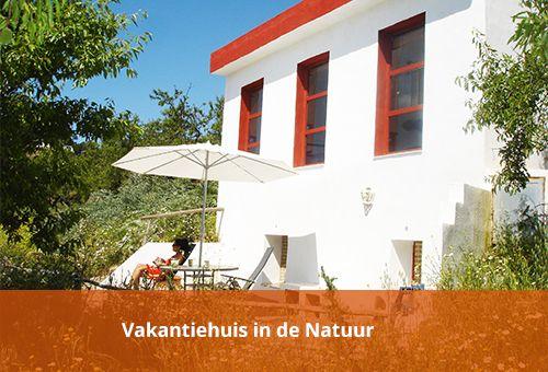 Vakantiehuis in de natuur